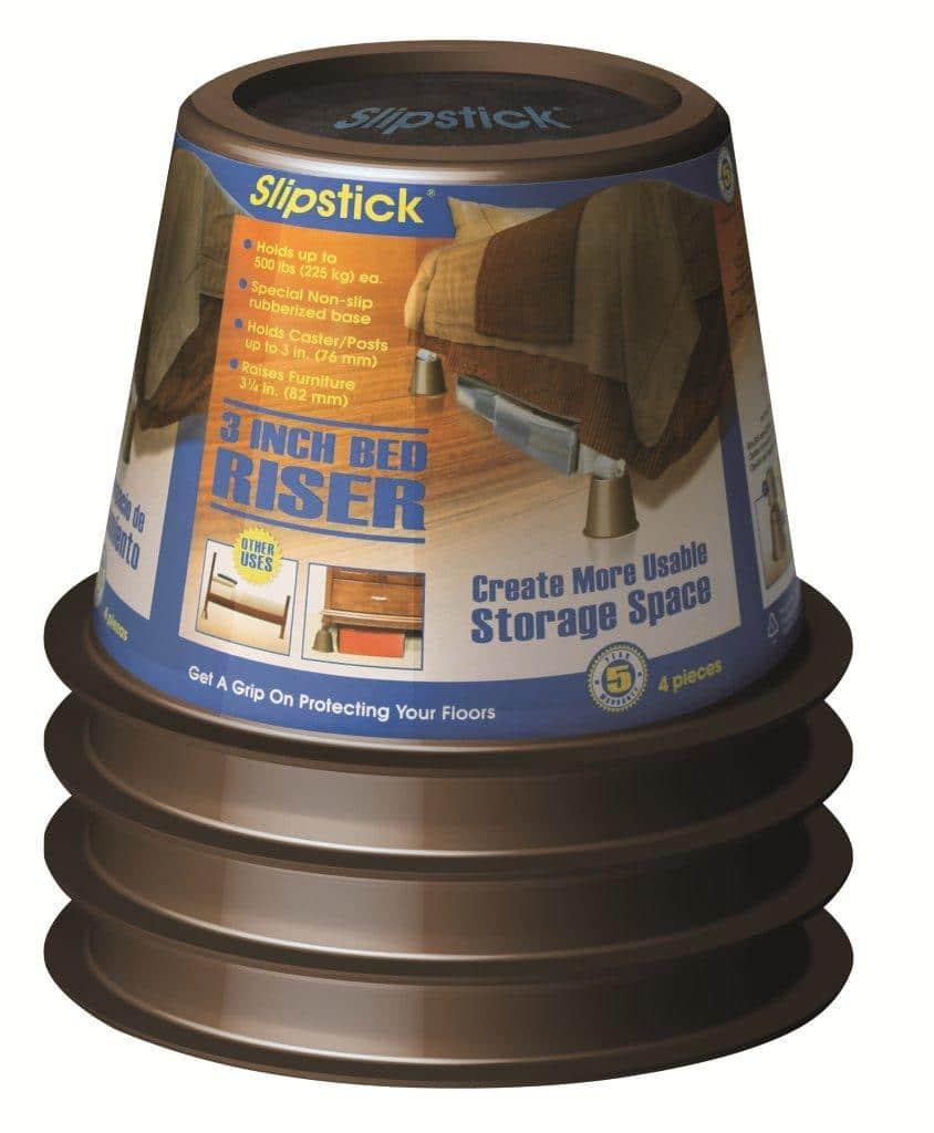 slipstick 3 inch bed riser cb652 slipstick foot. Black Bedroom Furniture Sets. Home Design Ideas
